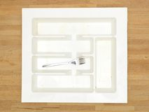 Cutlery Draw Divider Royalty Free Stock Photos