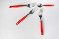 Cutlery group Stock Photo