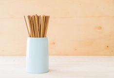 Cutlery holder chopsticks Royalty Free Stock Images