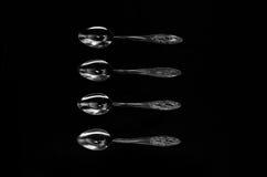 Cutlery i crockery Fotografia Royalty Free