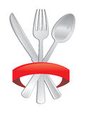 Cutlery icon Royalty Free Stock Images
