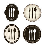Cutlery icons vector illustration