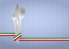 Cutlery italian Royalty Free Stock Photos