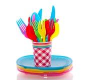 cutlery kolorowy klingeryt Fotografia Royalty Free