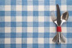 Cutlery na stole Zdjęcie Royalty Free