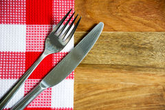 Cutlery. A photo of silver cutlery Royalty Free Stock Photography