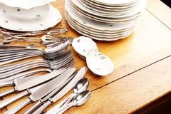 cutlery rozdaje set obrazy royalty free