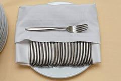 Cutlery rozwidlenia Zdjęcie Royalty Free
