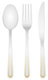 Cutlery set Stock Images