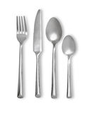 Cutlery set with Fork, Knife and Spoon Stock Image