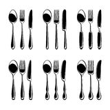 Cutlery set. Vector Royalty Free Stock Image