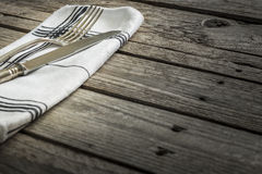 Cutlery on the table Royalty Free Stock Images