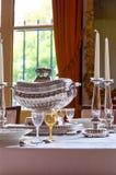 cutlery vertical luksusowy resturant srebny Obraz Royalty Free
