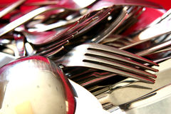 Cutlery2 Photo libre de droits