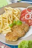 cutlet κοτόπουλου Στοκ Εικόνες