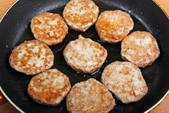 cutlet τρόφιμα Στοκ Εικόνα
