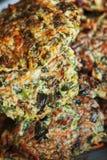 cutlet χορτοφάγος στοκ φωτογραφία με δικαίωμα ελεύθερης χρήσης