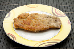 Cutlet breaded Royalty Free Stock Image