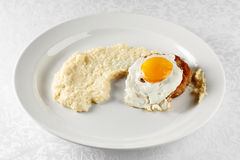 Cutlet and egg Royalty Free Stock Photography
