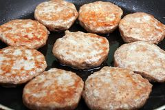 Cutlet food Royalty Free Stock Photography
