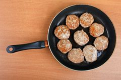 Cutlet food Stock Image