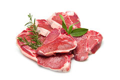 Cutlet of lamb Stock Photography