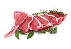 Cutlet of lamb Royalty Free Stock Images