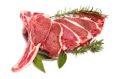 Cutlet of lamb Stock Image