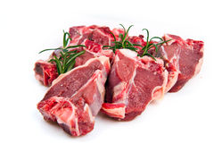 Cutlet of lamb Stock Photo