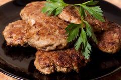 cutlets κρέατος Στοκ φωτογραφία με δικαίωμα ελεύθερης χρήσης