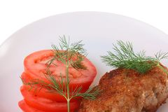 Cutlets Stock Image