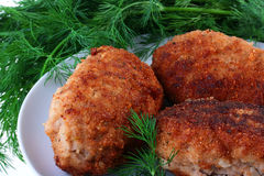 Cutlets Royalty Free Stock Photo