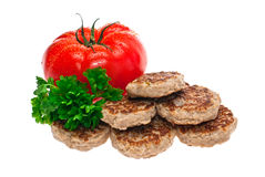 Cutlets. Stock Image