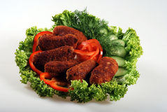 Cutlets royalty free stock photos