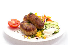Cutlets Royalty Free Stock Photography