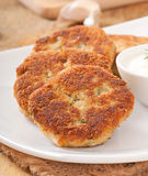 Cutlets cauliflower Royalty Free Stock Photo