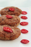 Cutlets with chilies Royalty Free Stock Photo