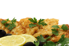 Cutlets composition. On a white background Stock Image