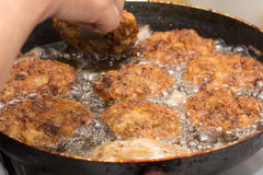 Cutlets fried Royalty Free Stock Photos
