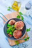 Cutlets Stock Photography