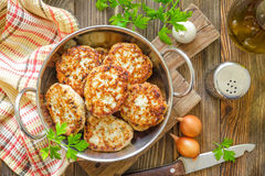 Cutlets Royalty Free Stock Image