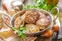 Cutlets Royalty Free Stock Images