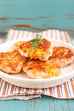 Cutlets from poultry Stock Image