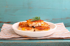 Cutlets from poultry Royalty Free Stock Photography