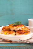 Cutlets from poultry Stock Images