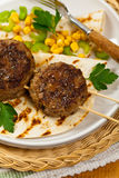 Cutlets or Sausage Patties Stock Photography