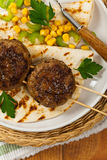 Cutlets or Sausage Patties Royalty Free Stock Photography