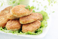Cutlets with thyme Stock Image