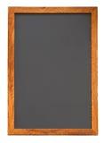 Cuto vacío de la vertical de la pizarra Imágenes de archivo libres de regalías