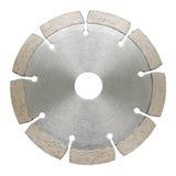Cutoff segmented wheel. Isolated over white background stock photo
